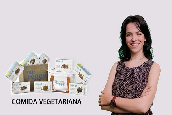 Ideia de negócio decomida vegetariana