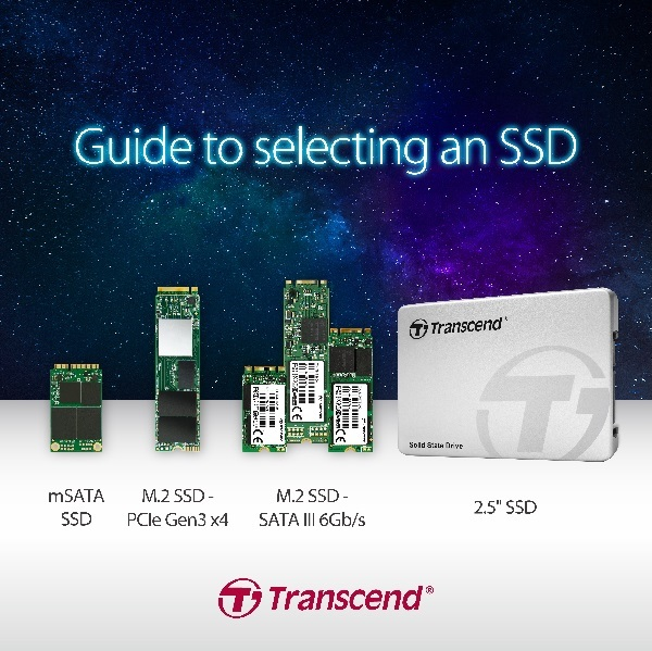 Transcend Helps You In Choosing The Right SSD for You