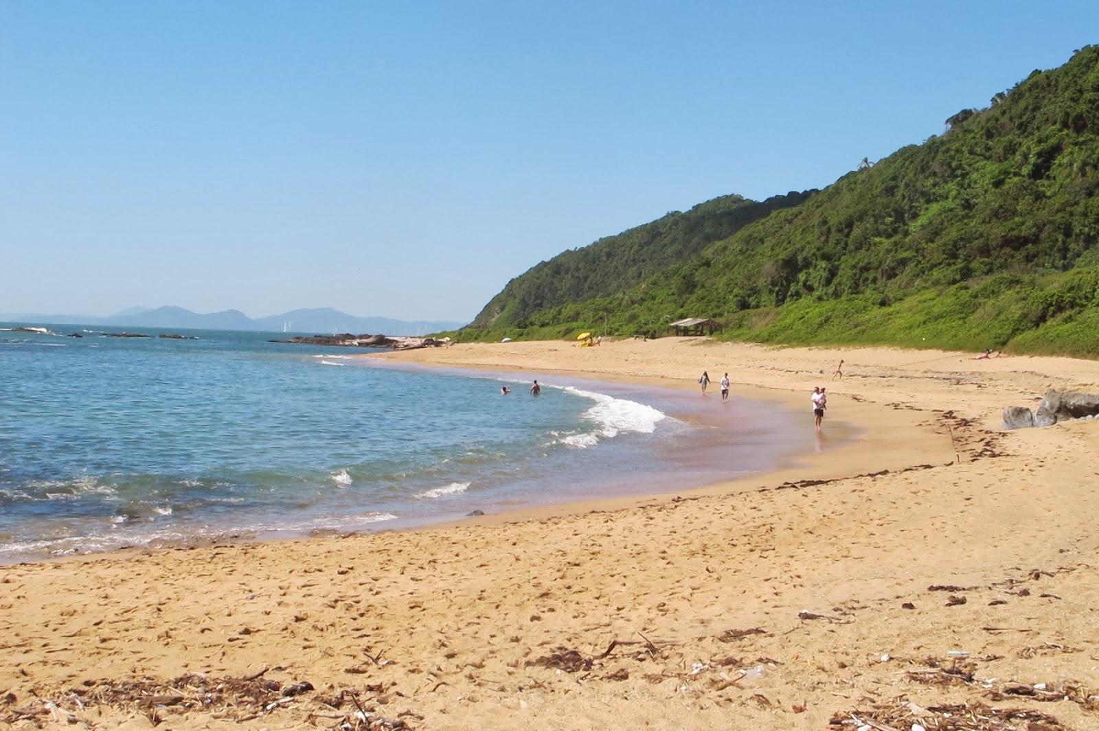 Praia Vermelha, em Penha, no litoral catarinense.