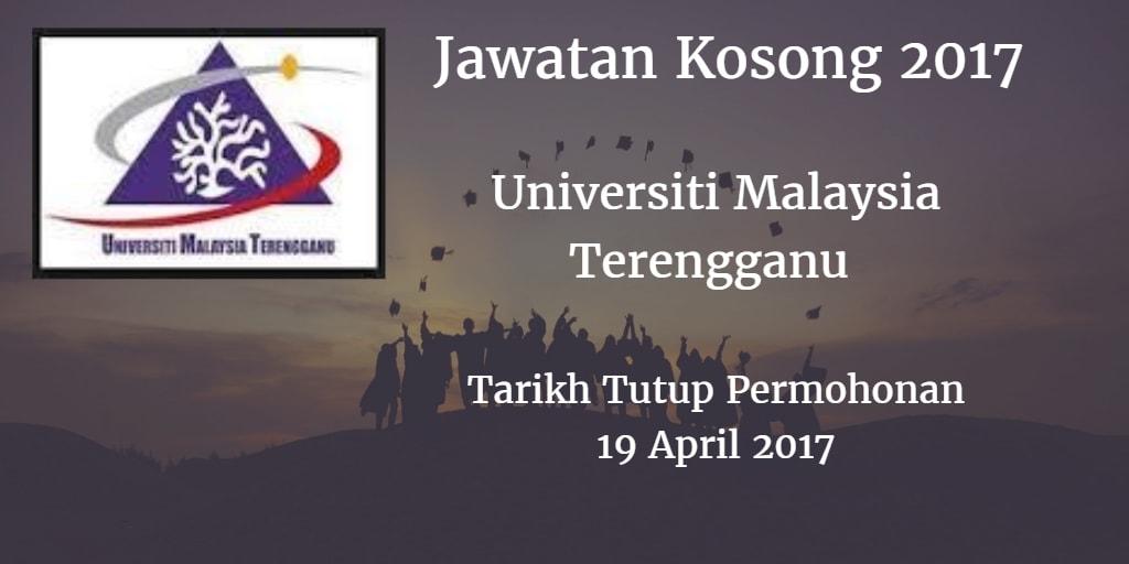 Jawatan Kosong UMT 19 April 2017