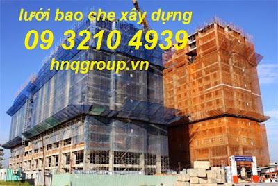 Lưới nhựa bao che công trường xây dựng