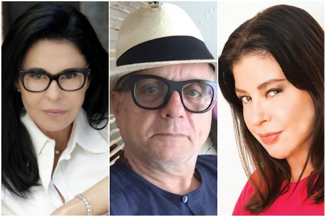 Maria Conchita Alonso le pide a Orlando Urdaneta que no defienda tanto a Mimi Lazo