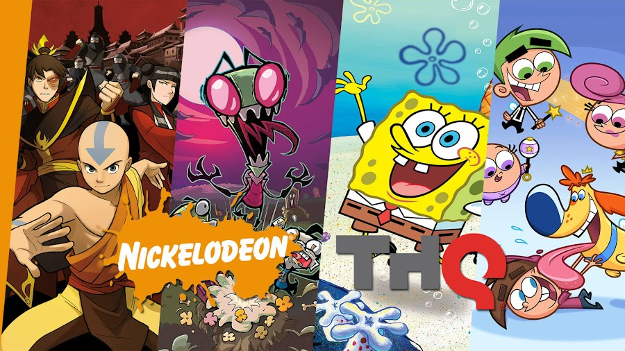 nickelodeon video games list thq nordic