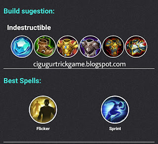 build tigreal terkuat mobile legends