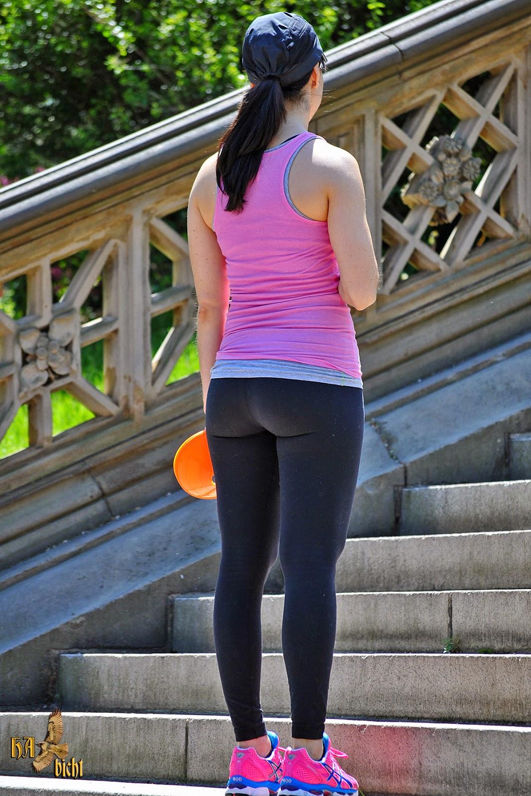 asian girls in leggings
