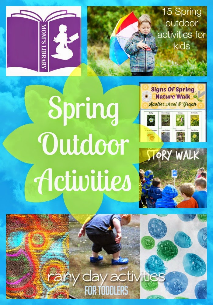 Get Outside this Spring with Mom's Library