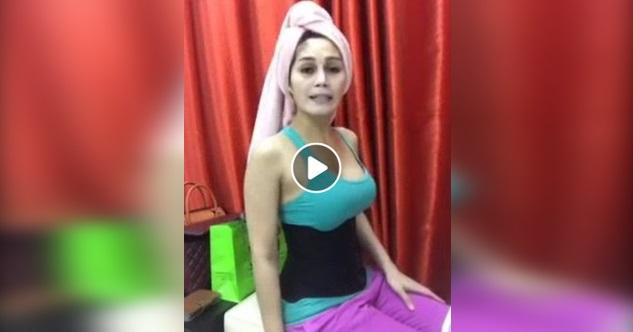 (Video) Nah Bang...Nur Sajat Kita Tunjuk 'Bahagian Sulitnya' Bukti Yang Dia Ni Perempuan?