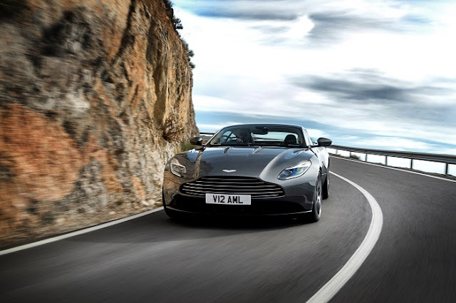 Showcase of Aston Martin DB 11 - - Exclusive preview
