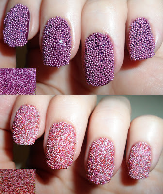 nail decoration caviar