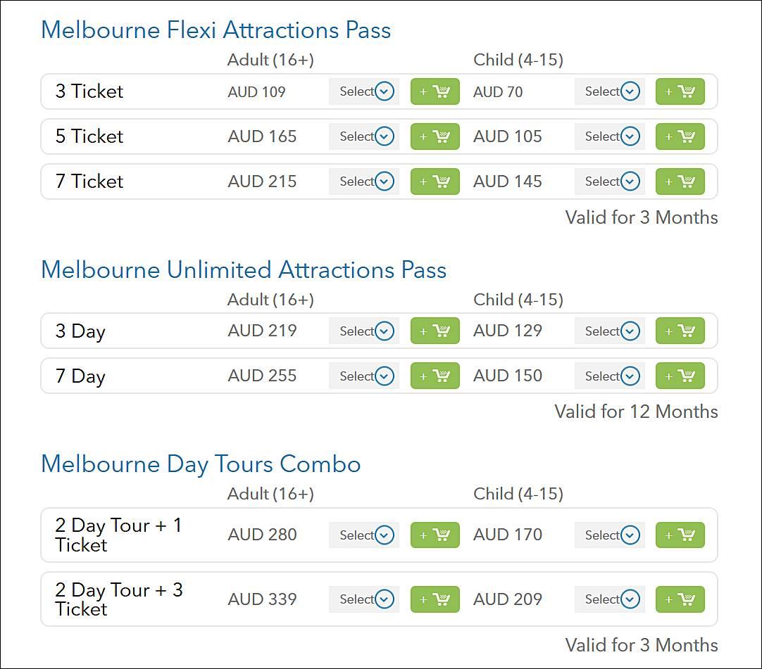 墨爾本-iVenture-景點-套票-卡-票價-費用-折扣-優惠-便宜-省錢-攻略-自由行-Melbourne