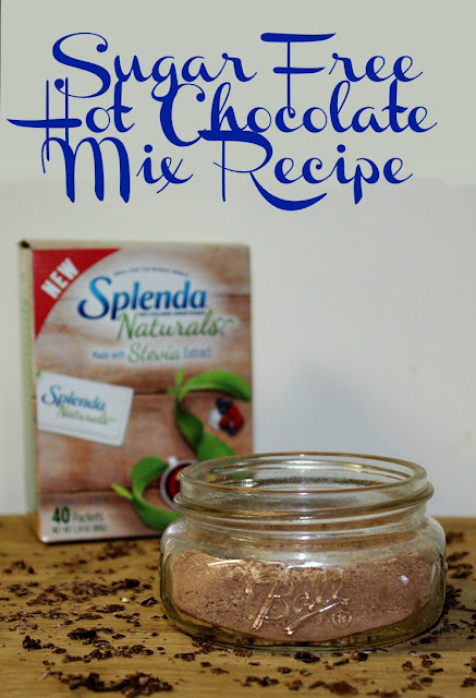 Sugar Free Hot Chocolate Mix With SPLENDA® Naturals Stevia Sweetener Recipe