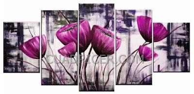 http://www.cuadricer.com/cuadros-pintados-a-mano-por-temas/cuadros-flores/cuadro-flores-rosas-campanillas-modernos-2069.html