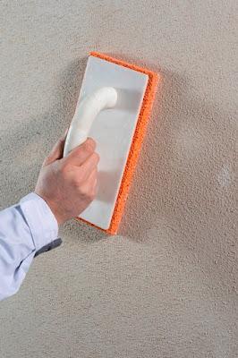 Изпердашване на повърхността с гъбена пердашка