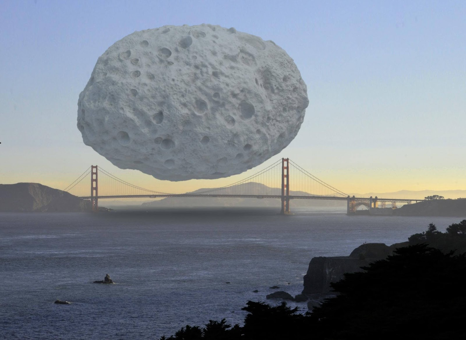 10 Incredible Pictures Prove That Some Things Are Truly Enormous - The 2.6 Trillion Dollar Rock