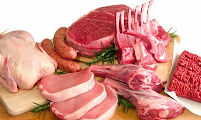 Harga Bahan Pokok Sembako Daging, Telur dan Ikan