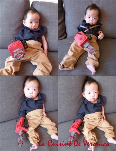 Halloween Baby Evil Dead Ash DIY Costume
