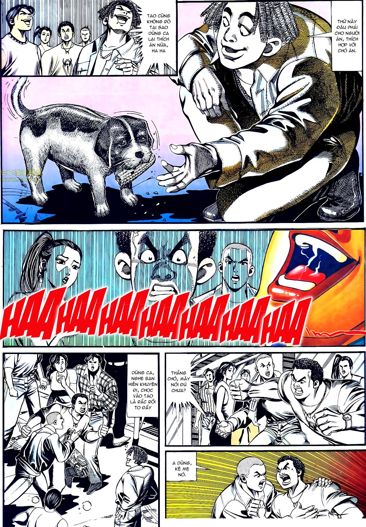 Người Trong Giang Hồ chapter 152: trăng sáng chiêm đông trang 9