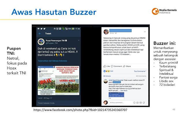 Cara Kerja Buzzer Palsu Untuk Tebarkan Hoax