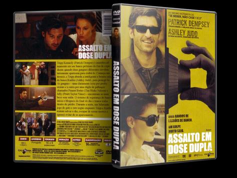 Capa DVD Assalto em Dose Dupla (Oficial)