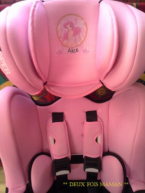 siège auto princesse