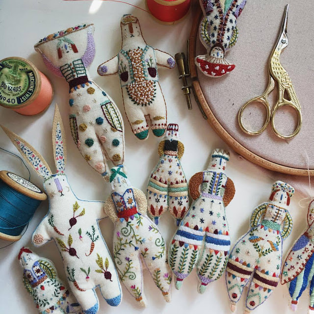 haftowane pacynki