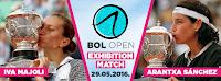 Iva Majoli vs. Arantxa Sanchez, Bol Open, Spektakularna egzibicija Bol slike otok Brač Online
