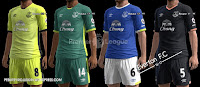 Everton F.C kits 2016-2017 Pes 2013