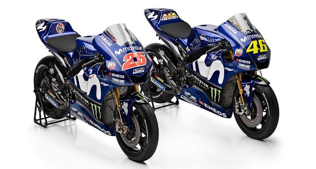 Gambar Motor Yamaha MotoGP 2018