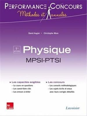 Télécharger Livre Gratuit Physique 1re année MPSI-PTSI - Performance Concours pdf