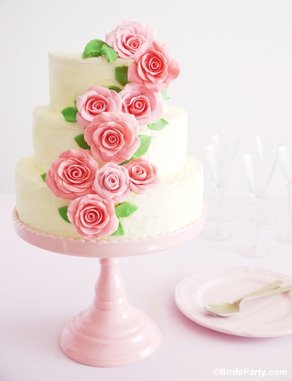 How to Make Your Own Wedding Cake - BirdsParty.com