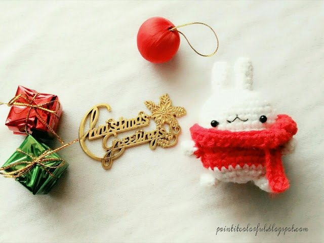 Amigurumi Christmas Free Patterns : Molang bunny free pattern a little love everyday