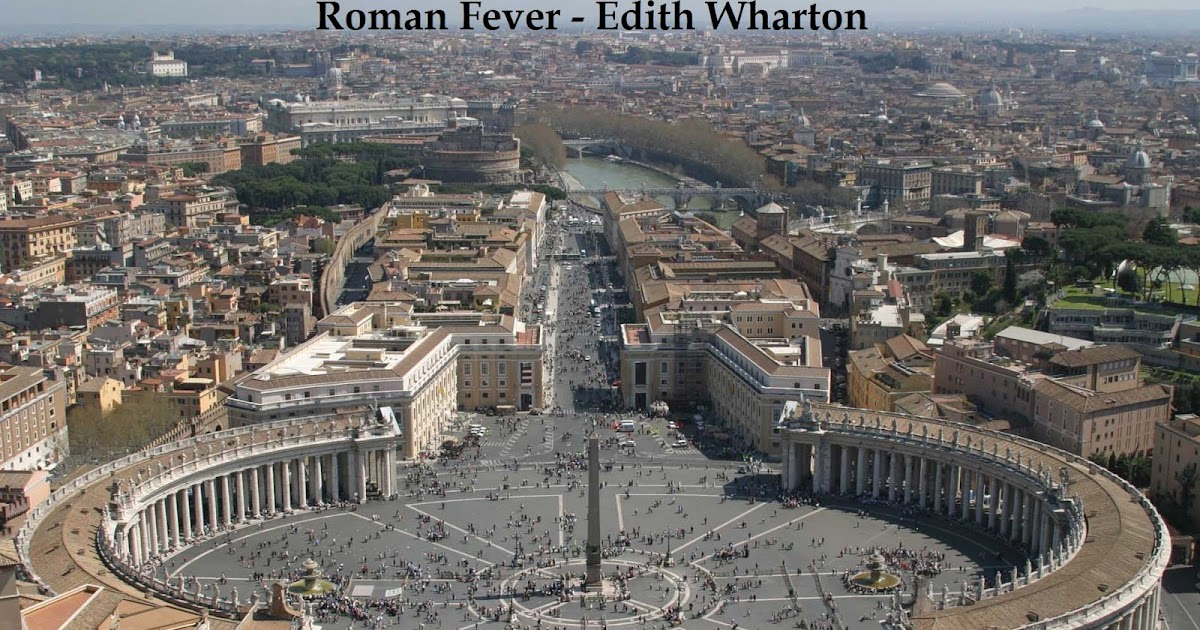 an analysis of roman fever by edith wharton