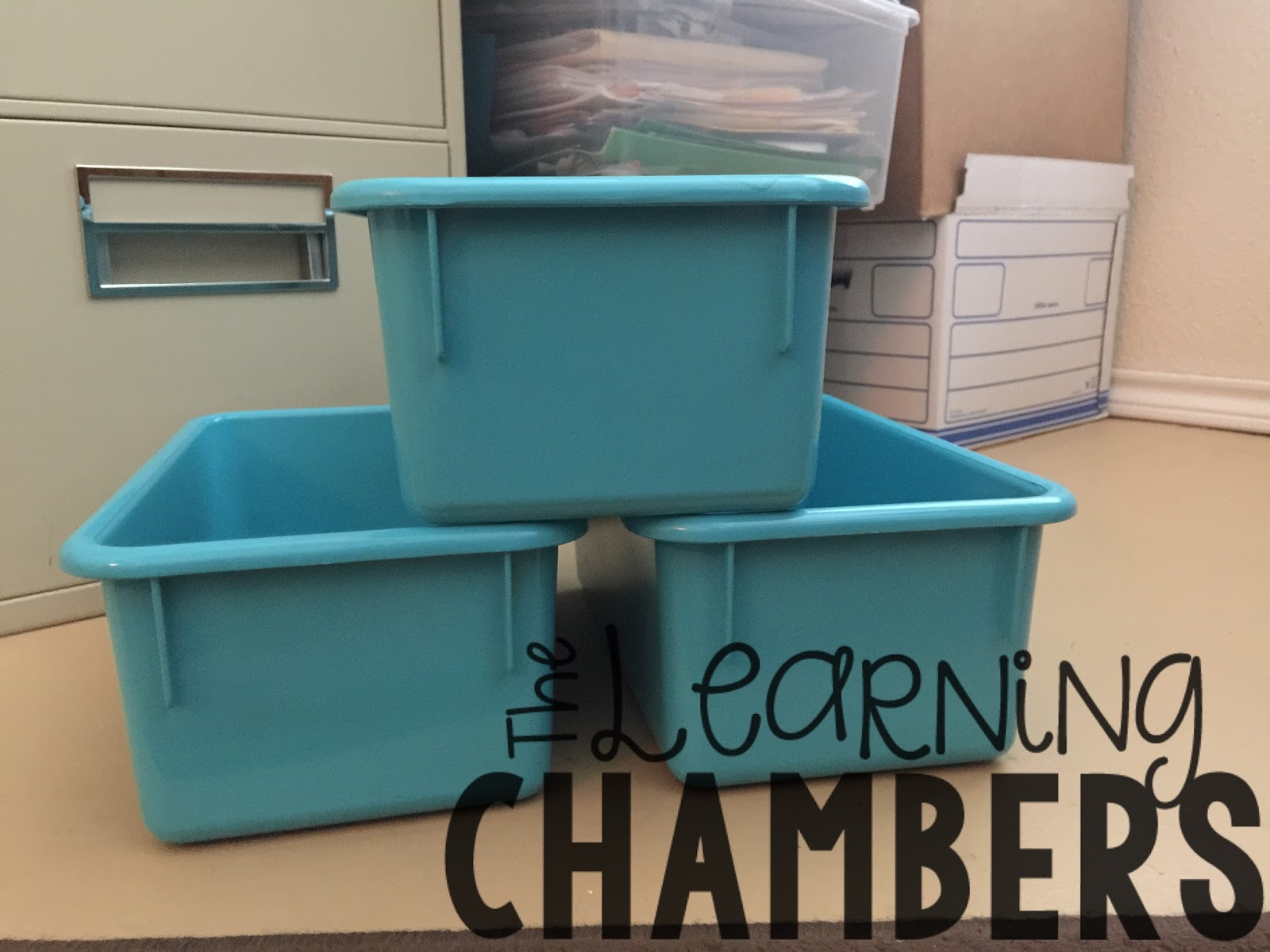 Monday Made- It {Refinish Old Plastic Bins} - The Learning