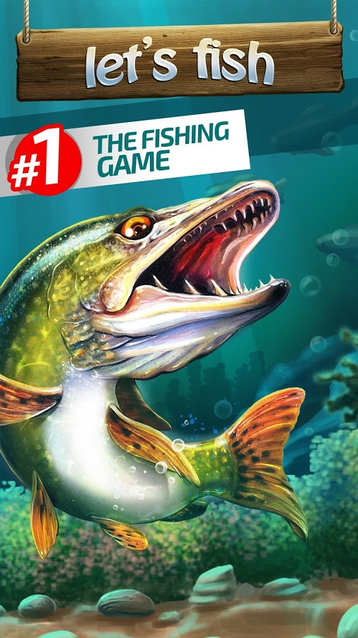 Lets Fish Sport Fishing Games Simulator MOD APK terbaru