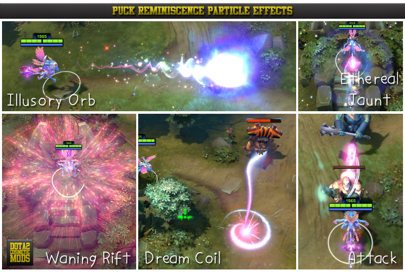 Dota 2 Mod Gravelmaw Deep Magma Immortal Items: Dota 2: PARTICLES EFFECT
