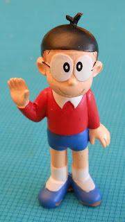 figura a escala de Nobita Nobi
