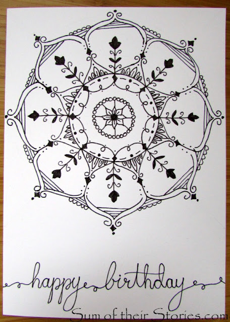 How to draw your own Mandala designs