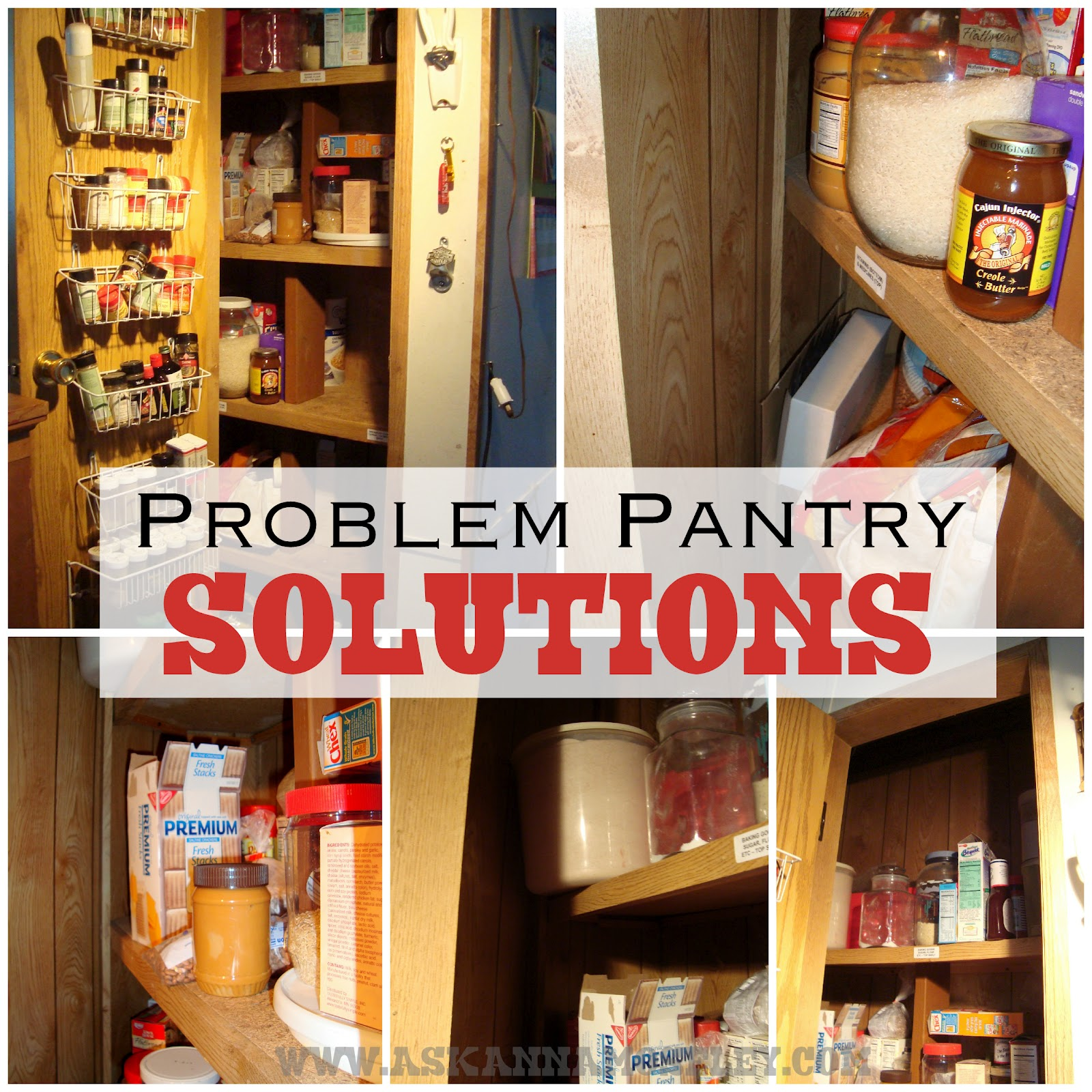 9 Tips For A Perfectly Organized Pantry: Pantry Organization Tips