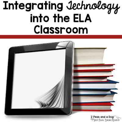 Technology can be integrated into any subject area. Check out how other teachers are using technology in their English Language Arts classrooms from the 2 Peas and a Dog blog.