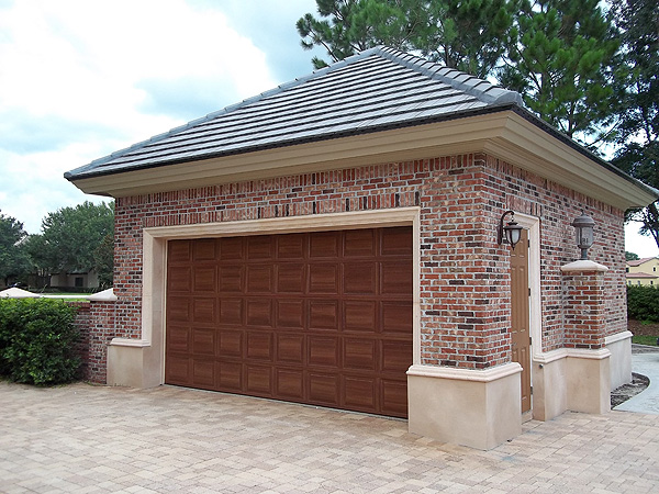 Three garage doors one big beautiful home everything i for Garage that looks like a house