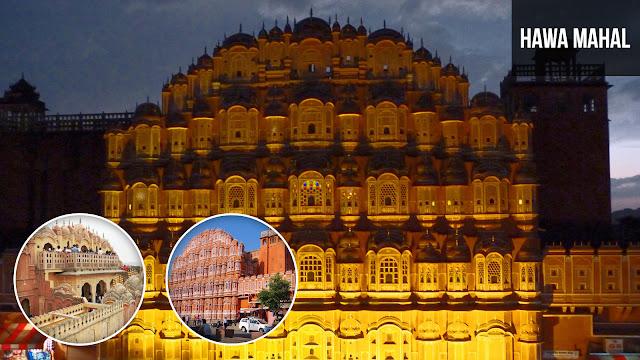 Hawa Mahal Rajputana Architecture
