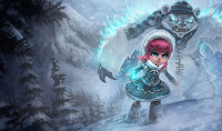 Frostifre Annie Skin League of Legends Wallpaper