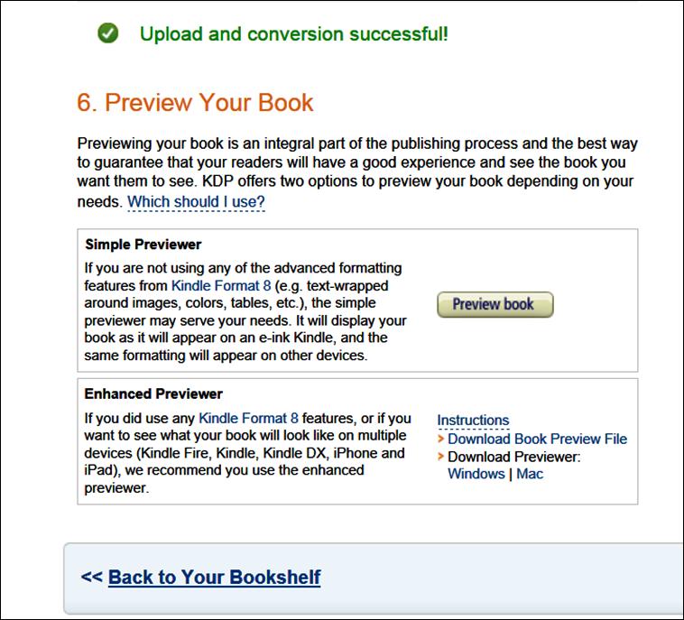 Publishing Your Novel on Kindle