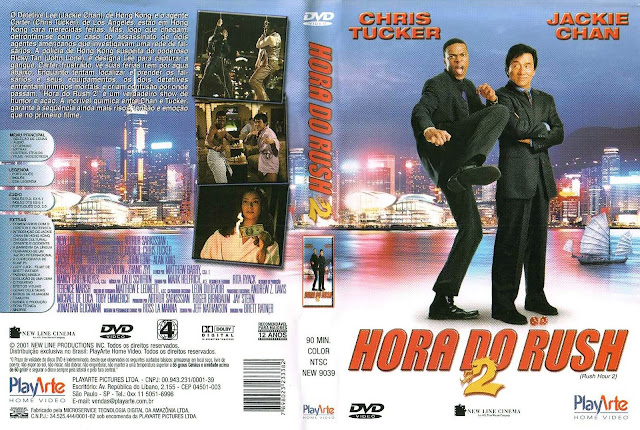 Capa DVD Hora do Rush 2