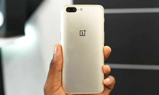 OnePlus 5 Gets Soft Gold Color