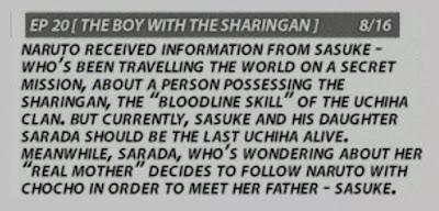 Bocoran Resmi Episode 20 Boruto : Naruto Next Generations