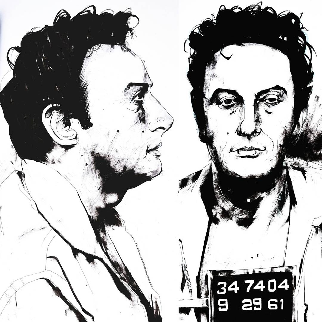 Lenny Bruce drawing