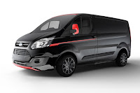 Ford Transit Custom Black Edition (2017) Front Side 1
