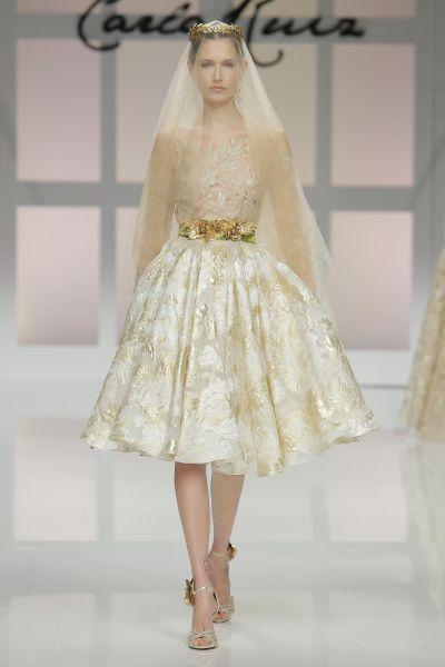 Hermosos vestidos de novias | Colección vestidos cortos
