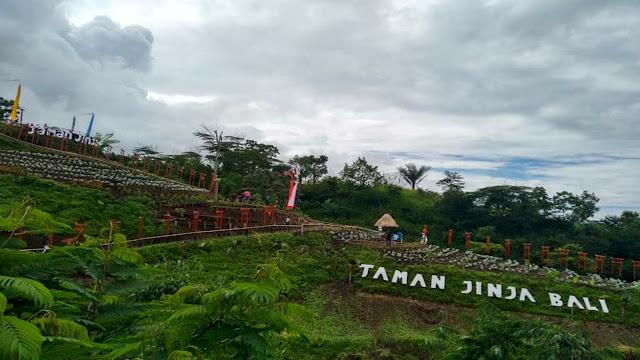 Taman Jinja, Wisata Terbaru di Bali Timur Tahun 2019
